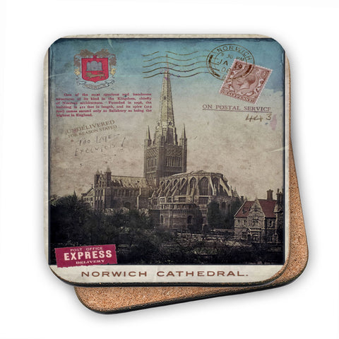 Norwich Cathedral MDF Coaster