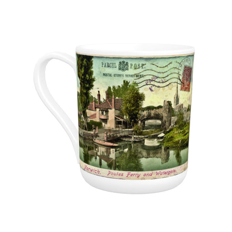 Poules Ferry and Watergate, Norwich Bone China Mug