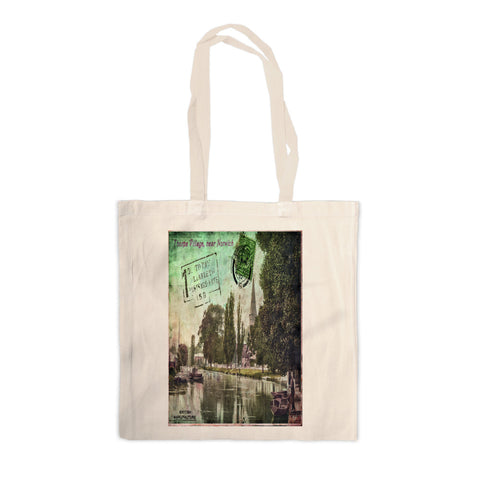 Thorpe Village, Norwichh Canvas Tote Bag