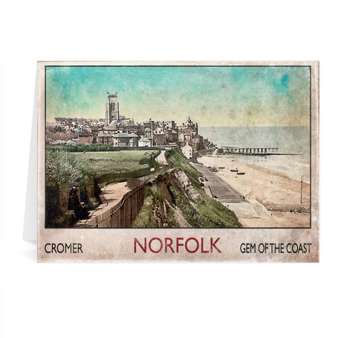 Cromer Greeting Card 7x5