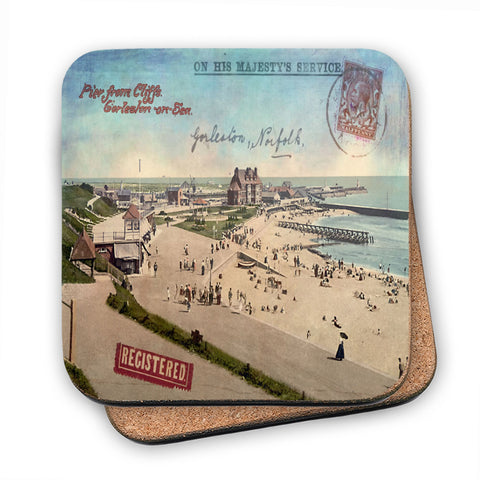Gorleston-On-Sea MDF Coaster