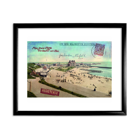 Gorleston-On-Sea Framed Print