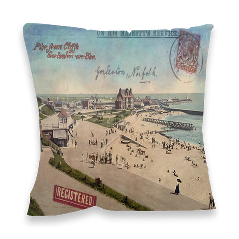 Gorleston-On-Sea Fibre Filled Cushion