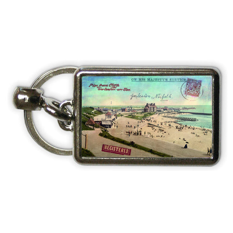 Gorleston-On-Sea Metal Keyring