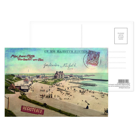 Gorleston-On-Sea Postcard Pack