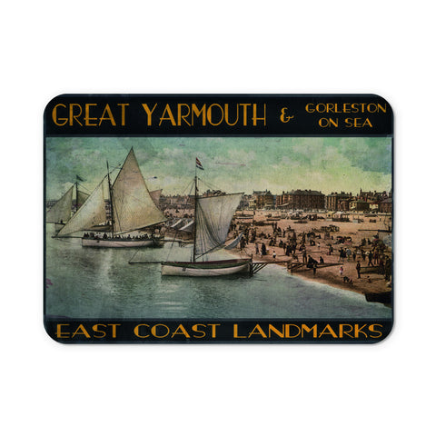 Great Yarmouth and Gorleston on Sea Mouse Mat