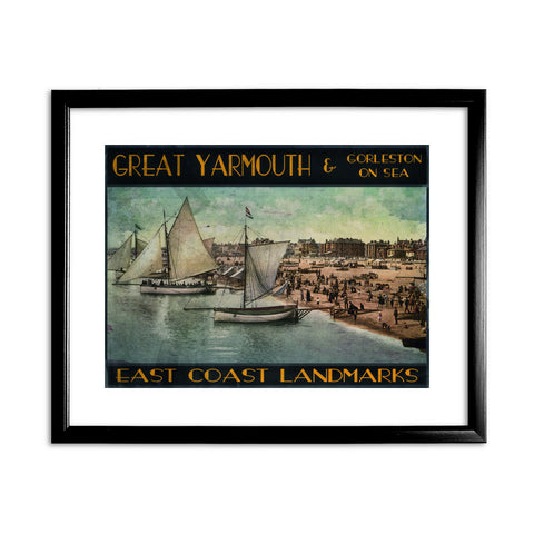 Great Yarmouth and Gorleston on Sea Framed Print