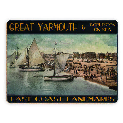 Great Yarmouth and Gorleston on Sea Placemat