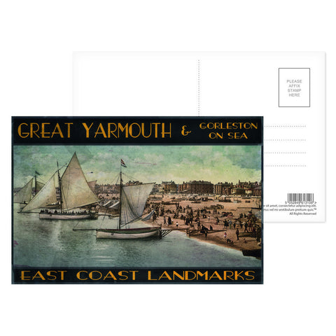 Great Yarmouth and Gorleston on Sea Postcard Pack
