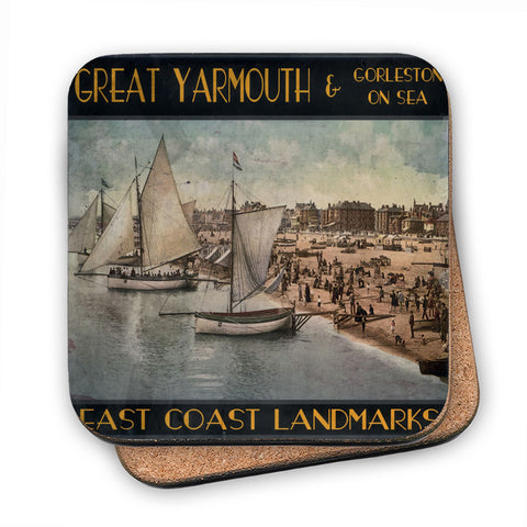 Great Yarmouth and Gorleston on Sea MDF Coaster