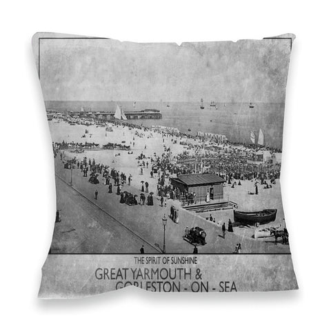 Great Yarmouth and Gorleston on Sea Fibre Filled Cushion