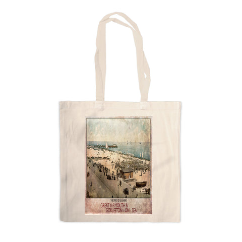 Great Yarmouth and Gorleston on Sea Canvas Tote Bag