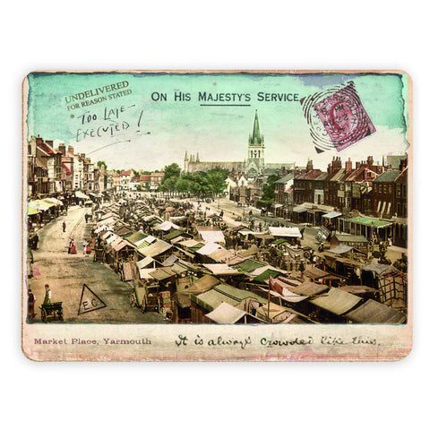 Market Place, Great Yarmouth Placemat