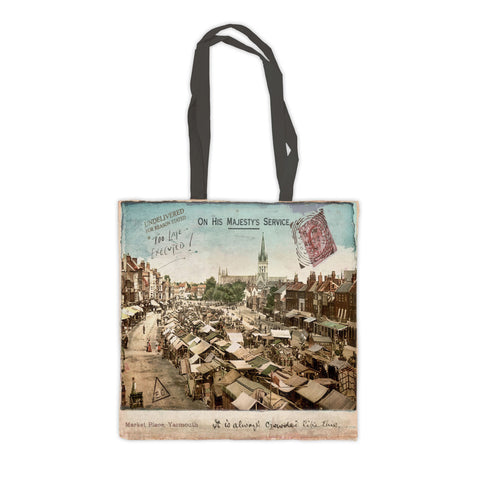 Market Place, Great Yarmouth Premium Tote Bag