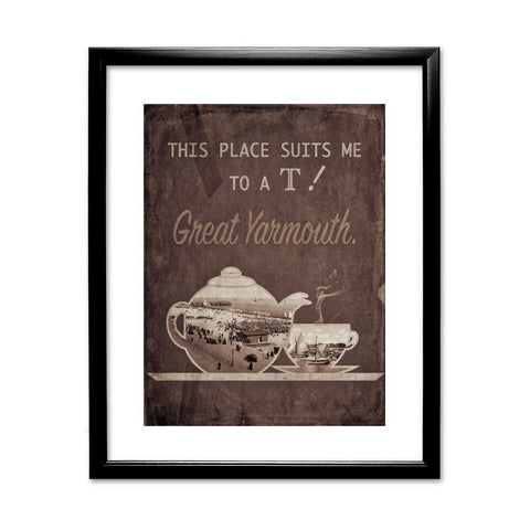 Great Yarmouth suits me to a T! Framed Print