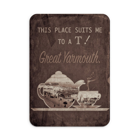 Great Yarmouth suits me to a T! Mouse Mat