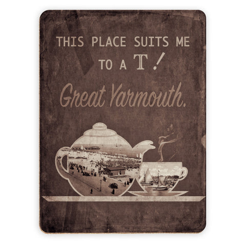 Great Yarmouth suits me to a T! Placemat