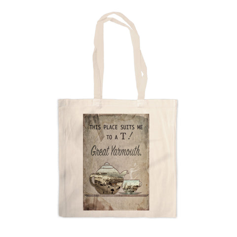 Great Yarmouth suits me to a T! Canvas Tote Bag