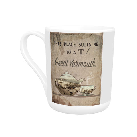 Great Yarmouth suits me to a T! Bone China Mug