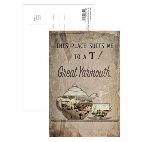 Great Yarmouth suits me to a T! Postcard Pack