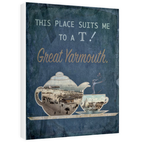 Great Yarmouth suits me to a T! 60cm x 80cm Canvas