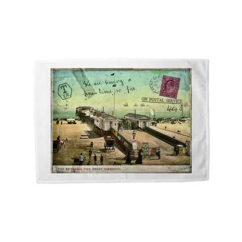 Britannia Pier, Great Yarmouth Tea Towel