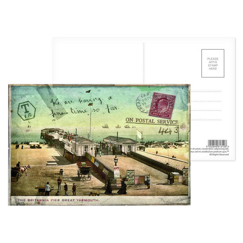Britannia Pier, Great Yarmouth Postcard Pack