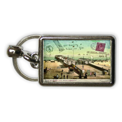 Britannia Pier, Great Yarmouth Metal Keyring