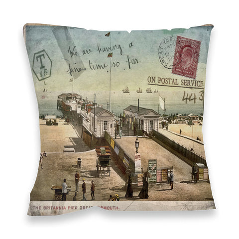 Britannia Pier, Great Yarmouth Fibre Filled Cushion