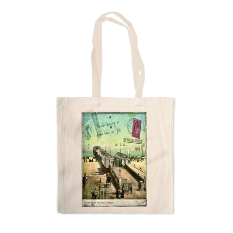 Britannia Pier, Great Yarmouth Canvas Tote Bag