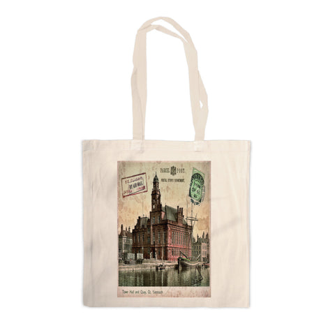 Town Hall and Quay, Great Yarmouth Canvas Tote Bag