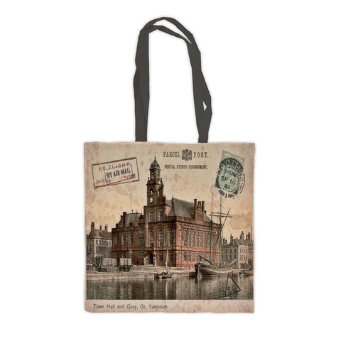 Town Hall and Quay, Great Yarmouth Premium Tote Bag