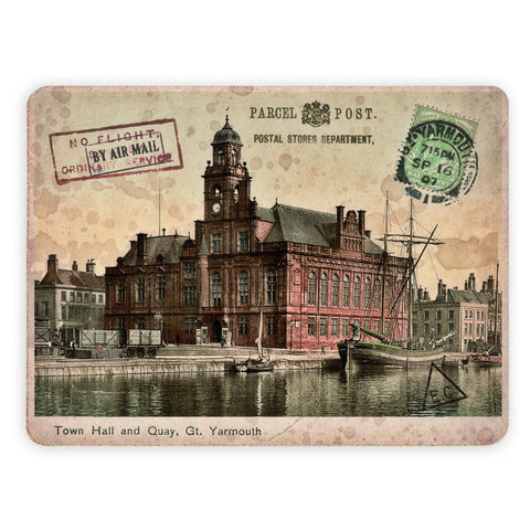 Town Hall and Quay, Great Yarmouth Placemat