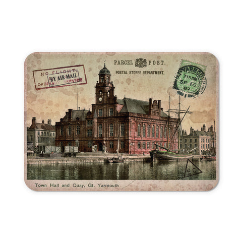 Town Hall and Quay, Great Yarmouth Mouse Mat