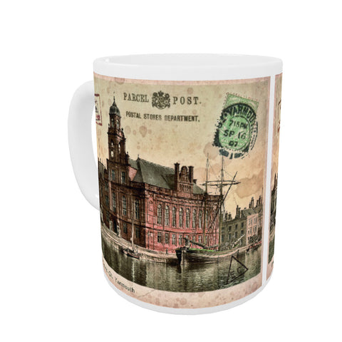 Town Hall and Quay, Great Yarmouth Mug
