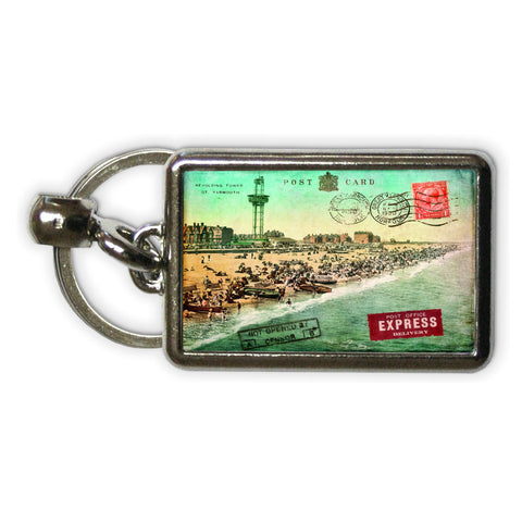 Great Yarmouth Metal Keyring