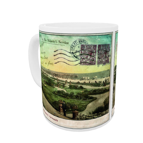 Great Yarmouth Coloured Insert Mug