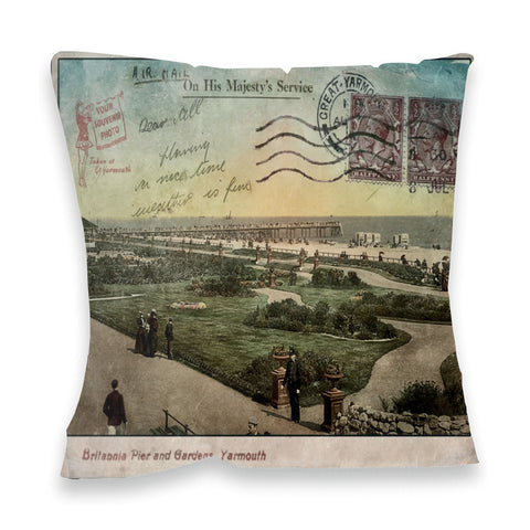 Great Yarmouth Fibre Filled Cushion