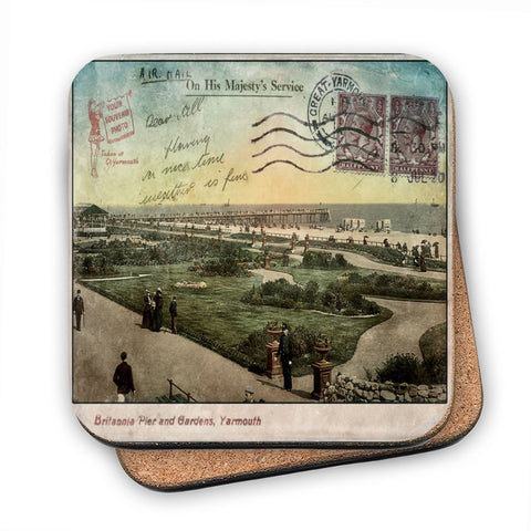 Great Yarmouth MDF Coaster