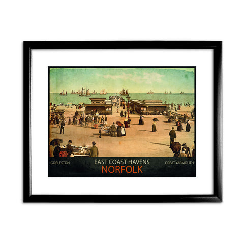 East Coast Havens 11x14 Framed Print (Black)