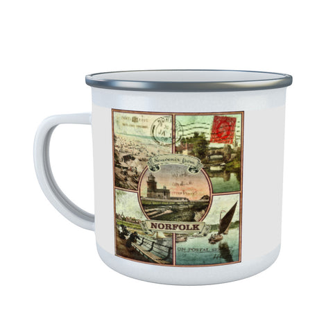 Souvenirs from Norfolk Enamel Mug
