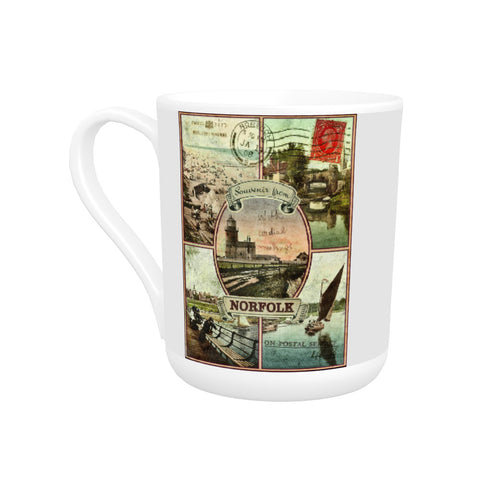 Souvenirs from Norfolk Bone China Mug