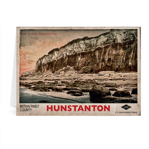 Hunstanton Greeting Card 7x5