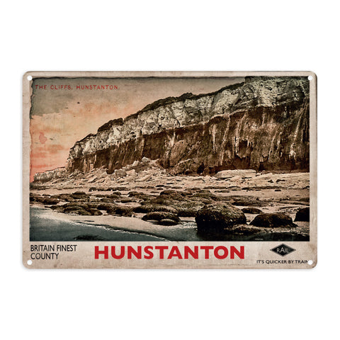 Hunstanton Metal Sign