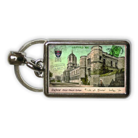 Christ Church College, Oxford Metal Keyring