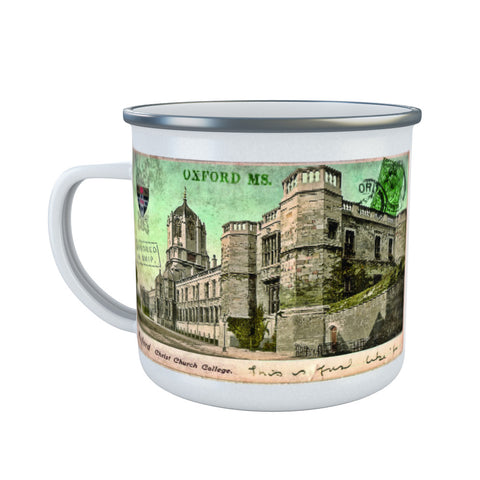 Christ Church College, Oxford Enamel Mug