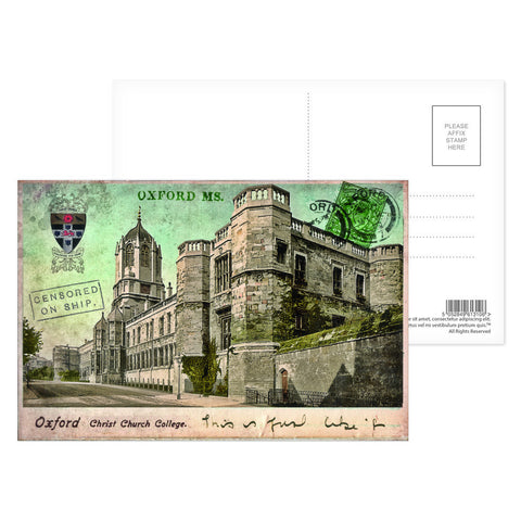 Christ Church College, Oxford Postcard Pack