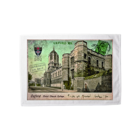 Christ Church College, Oxford Tea Towel