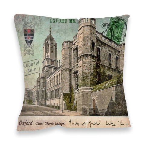 Christ Church College, Oxford Fibre Filled Cushion