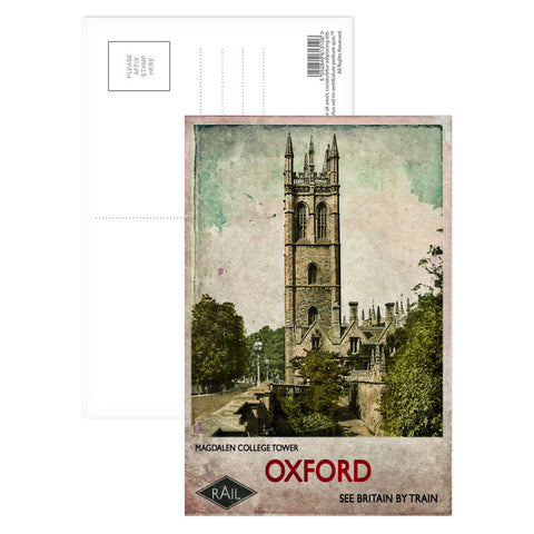 Magdalen College Tower, Oxford Postcard Pack